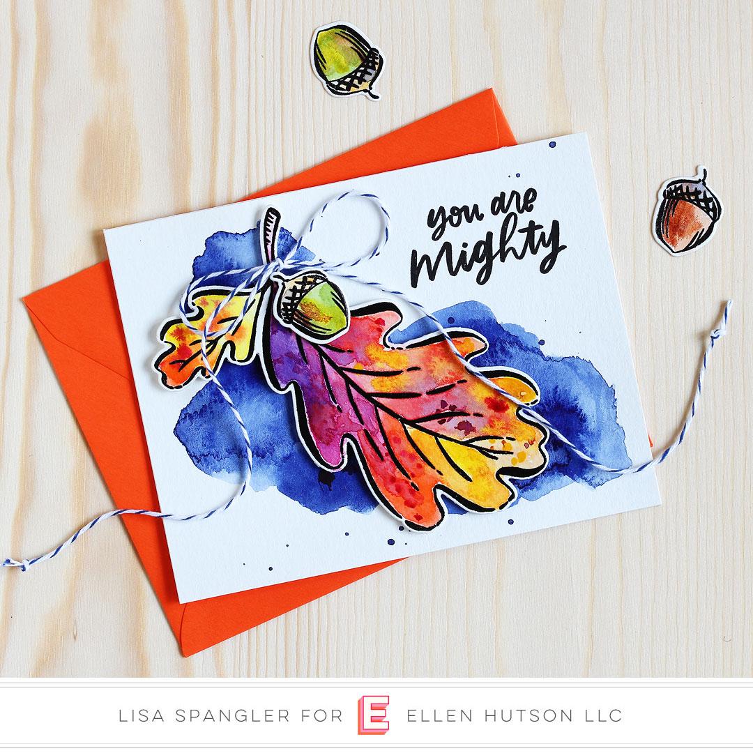 Essentials by Ellen Mondo Oak Leaf by Lisa Spangler
