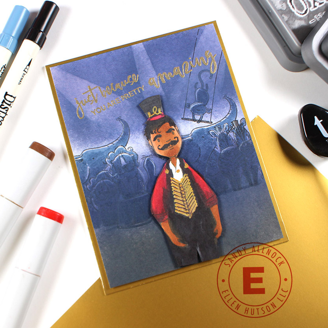 The Greatest Showman Card With Essentials by Ellen