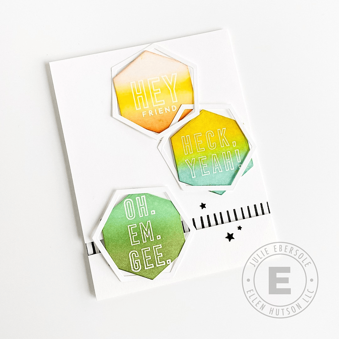 Using Hexagons In Your Card Designs