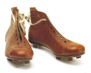 Botines de futbol antiguos: