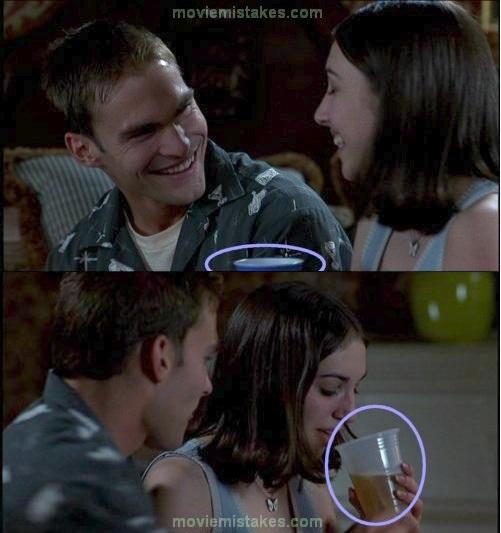 1. American Pie. El vaso azul cambia de color. Será la magia del Stifmaster?