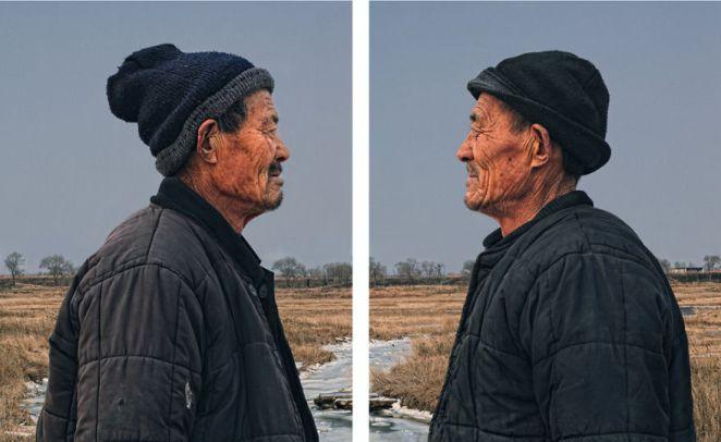 1. La idea del fotógrafo es mostrar como los gemelos se crean en una misma familia, pero cuando pasan los años toman sus propias decisiones y eso interfiere en su parecido