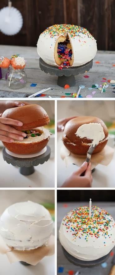 1. Torta piñata