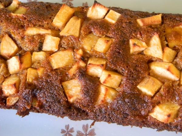 1.- Torta de manzana