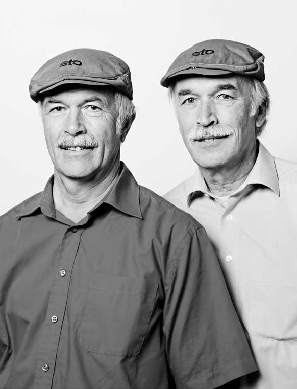 El proyecto se basa en retratar personas que a simple vista parecen ser gemelos...
