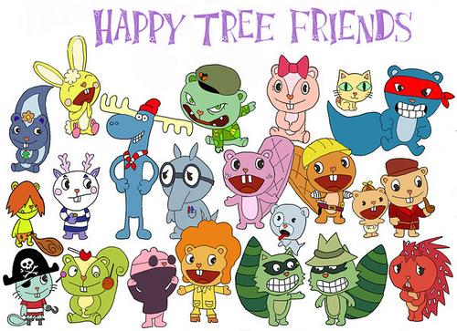 15. Happy tree friends