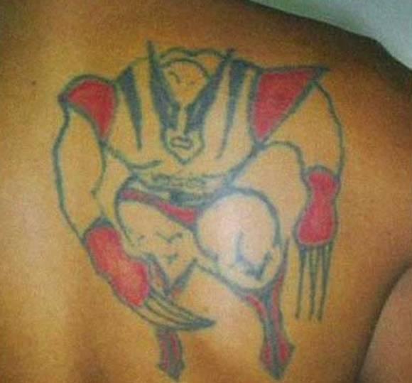 4. Y a vos Wolverine qué te hicieron?