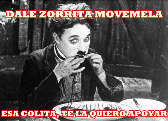 3. Charles Chaplin - Dale zorrita (El Dipy)