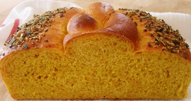 2.- Pan de calabaza con especias