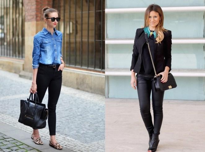 Es un buen pantalón para llevar cuando viajás: combina tanto que ahorrás lugar y peso en la valija.