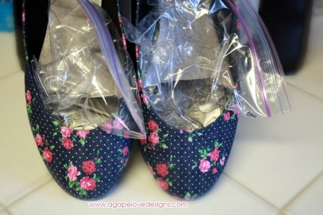 2. Agrandá los zapatos (versión verano)