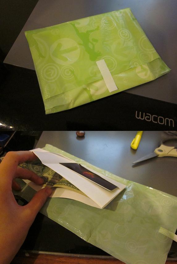18. ¿Llevás mucha plata encima? Envolvela en una hoja de papel y después en un pack de toallita, nadie te la va a robar.