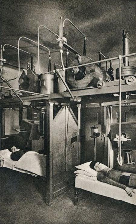 2. Pacientes recibiendo terapia de Radio, a principios del siglo XX