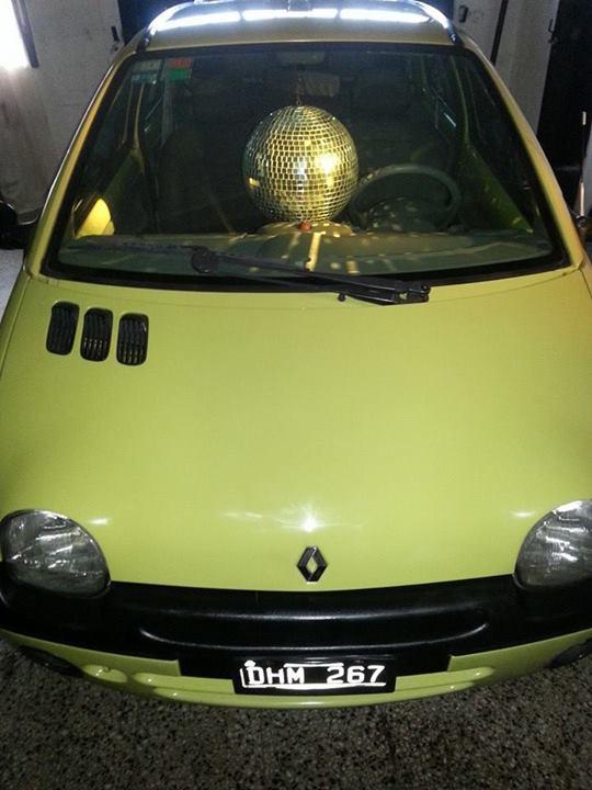 12. El auto de Disco Stu.