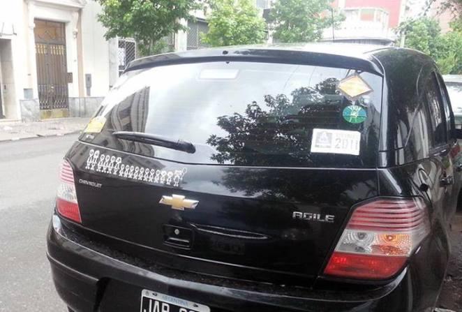 28. El auto de Maradona.