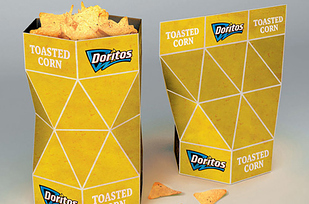 13. Envase de Doritos