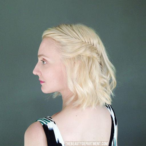 4. Si el pelo casi te llega a los hombros...