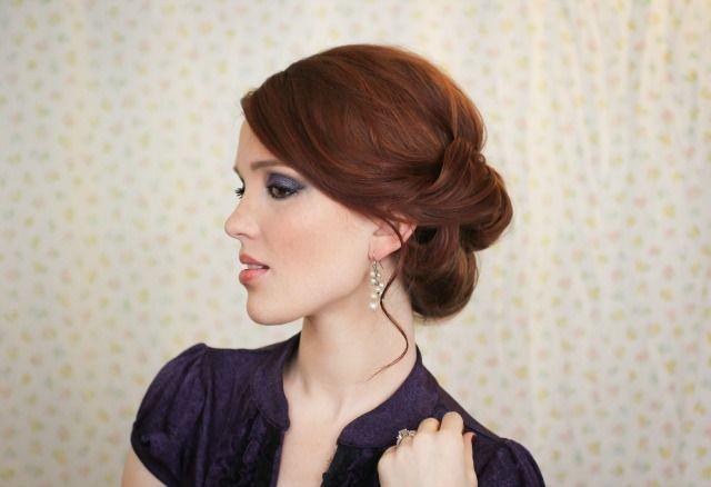6. Este peinado también se puede hacer doble.