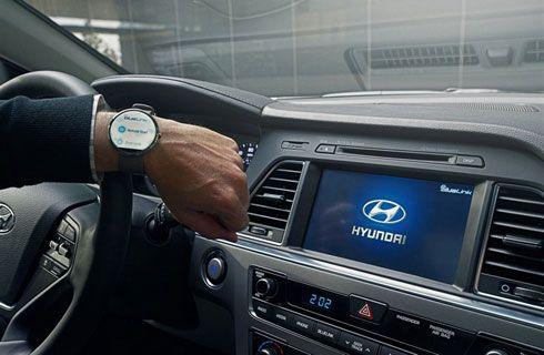 3. Controlar el auto a través de tu reloj.