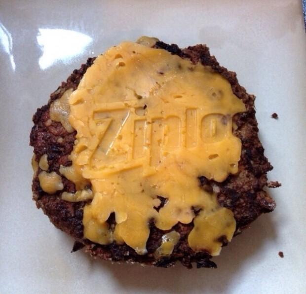 22. La hamburguesa