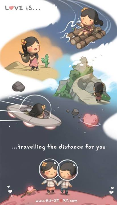 17. Viajar distancias por vos.