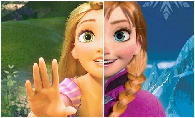 3. Elsa y Anna son primas de Rapunzel.