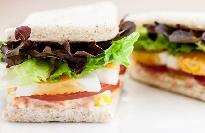 5. Sandwich de vegetales