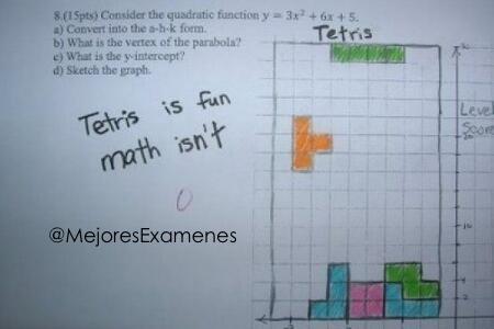1. ¡AGUANTE EL TETRIS!