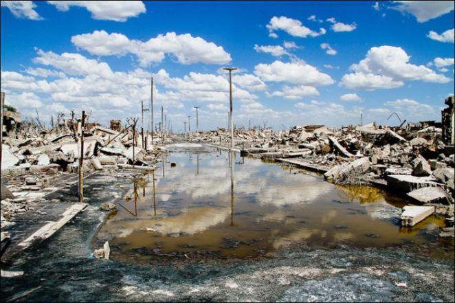 Las fotos muestran un lugar totalmente desolado, misterioso y un poco aterrador