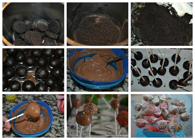 1. Popcakes de Oreo
