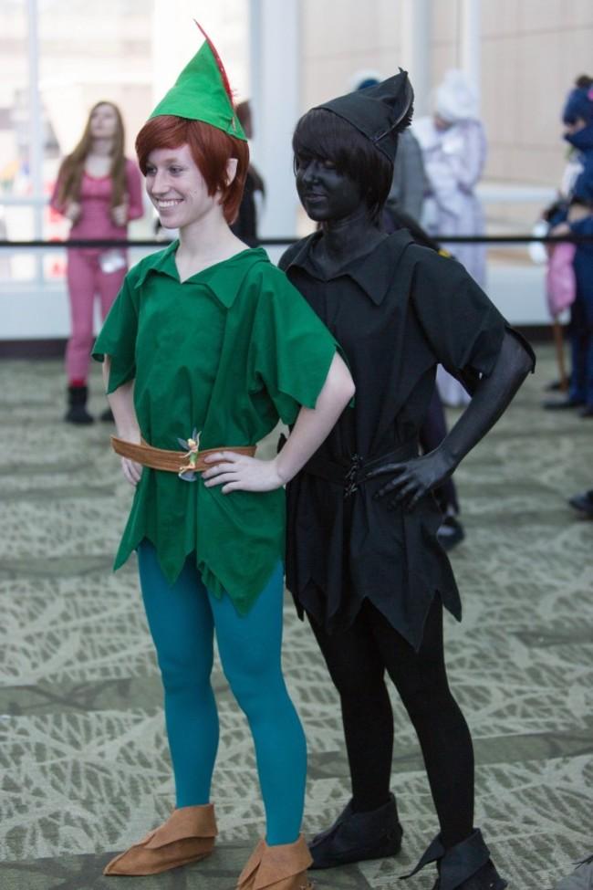 9. Peter Pan y su sombra