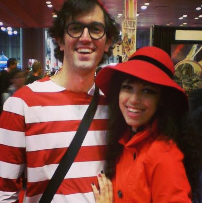 12. Waldo y Carmen Sandiego