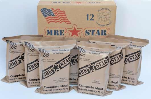 6. Los alimentos secos de los militares de Estados Unidos, pueden rehidratarse con orina.