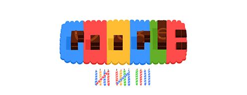 9. Feliz cumple, Google!