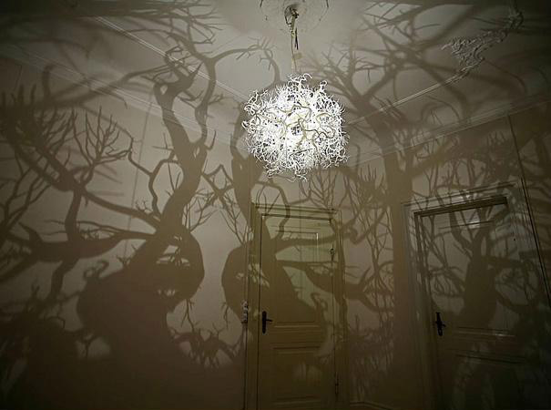 1. Lámpara bosque