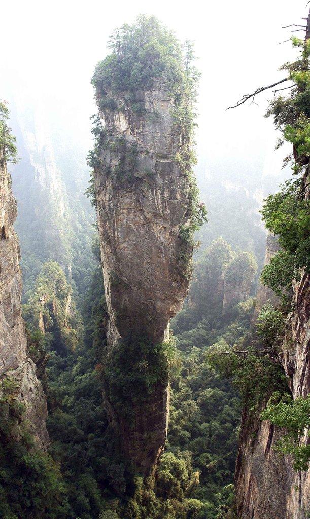 30. Parque Nacional Zhangjiajie, China