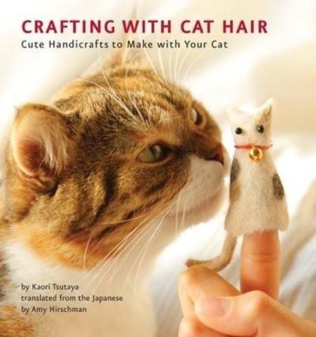 21. Un libro para hacer manualidades usando el pelo de tu gato.