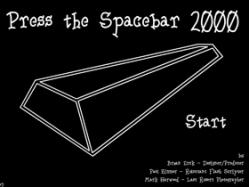 3. Press the Spacebar 2000