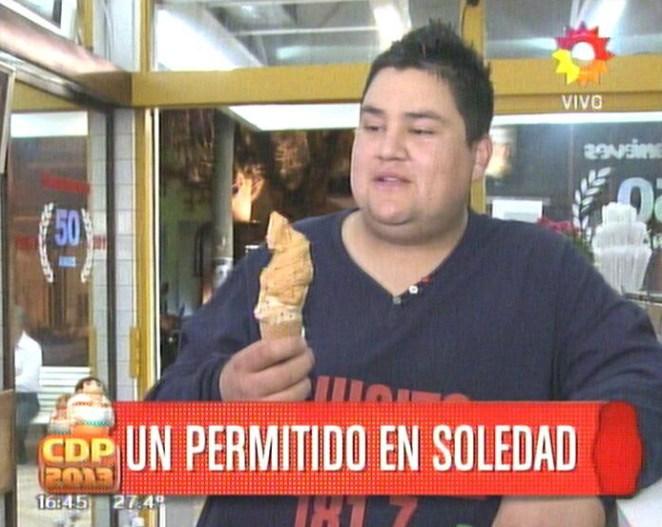 14. A falta de amor, helado.