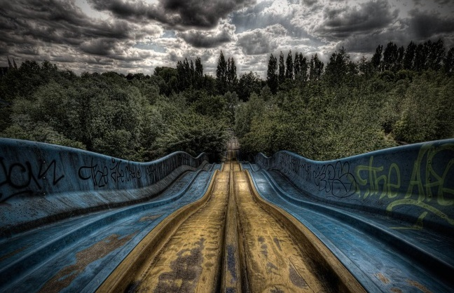 10. Un parque de juegos en Bélgica