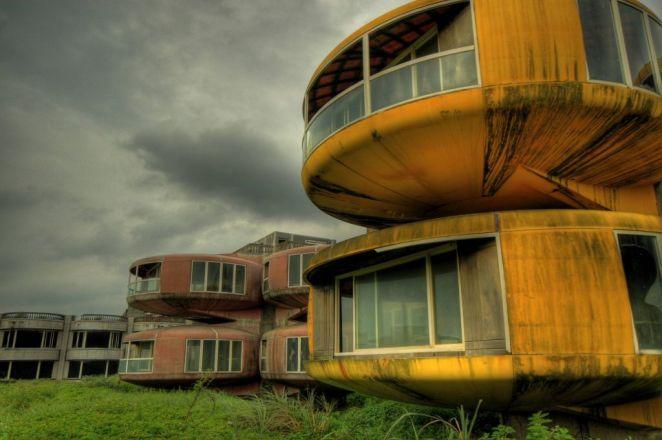 22. Casas retro futuristas en Japón