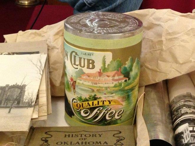 7. Una lata de café de calidad