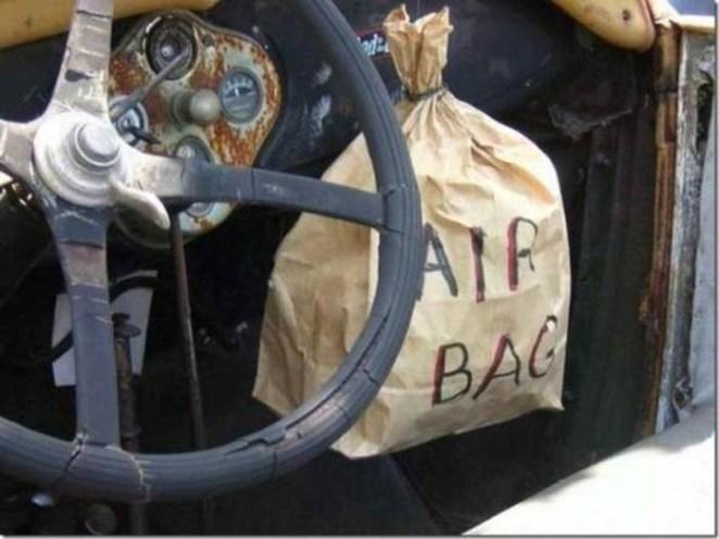6. Auto de último modelo con airbag incluido