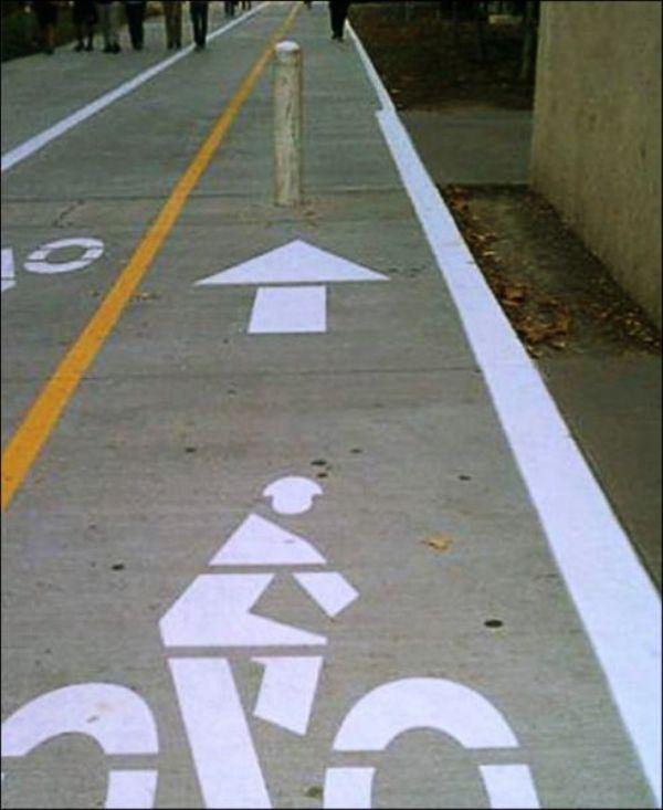 24. No le caen muy bien los ciclistas.