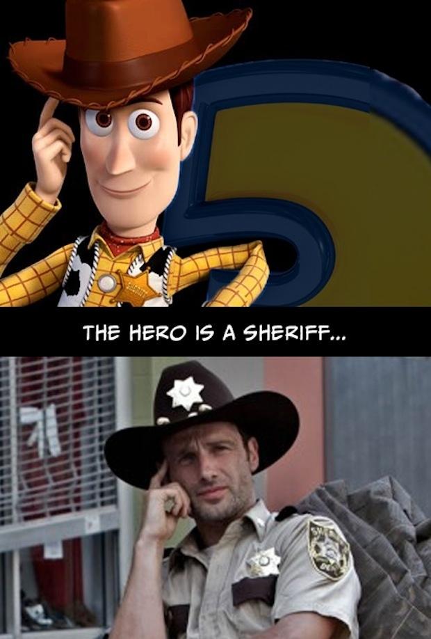 1. El héroe es un policía o