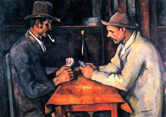 1. Una pintura de Paul Cézanne