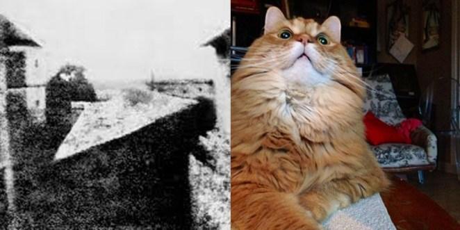 2. Cada dos minutos, sacamos la misma cantidad de fotos que toda la humanidad sacó durante el año 1800.