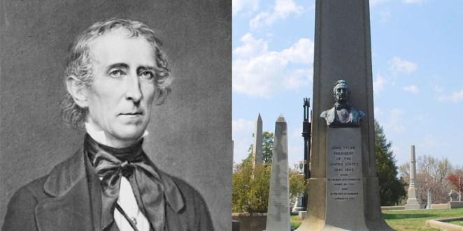 7. John Tyler, décimo presidente de Estados Unidos, tiene dos nietos que viven.
