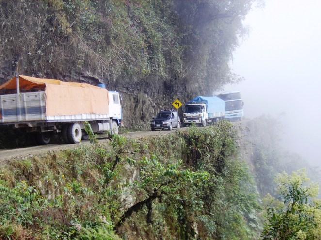 6. Carretera yungas, Bolivia
