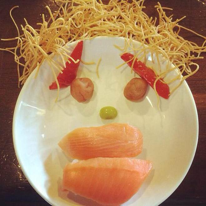 Sushi triste
